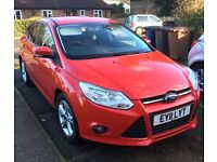 Stunning shiny red 1.6 diesel car , low mileage low tax. Smoke and pet free