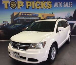 2013 Dodge Journey SE PLUS, ALLOY WHEELS, POWER GROUP, AND LOW K
