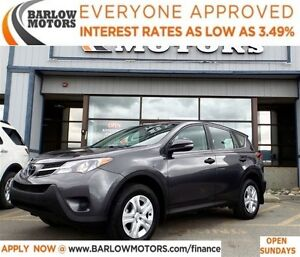 2013 Toyota RAV4 LE*EVERYONE APPROVED* APPLY NOW DRIVE NOW.