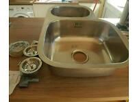 Astini brushed steel Undermount sink