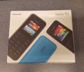 NOKIA 105 UNLOCKED BRAND NEW WITH RECEIPT