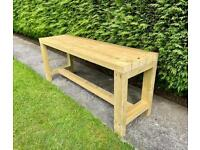 Made to order garden bench (price depends on size)