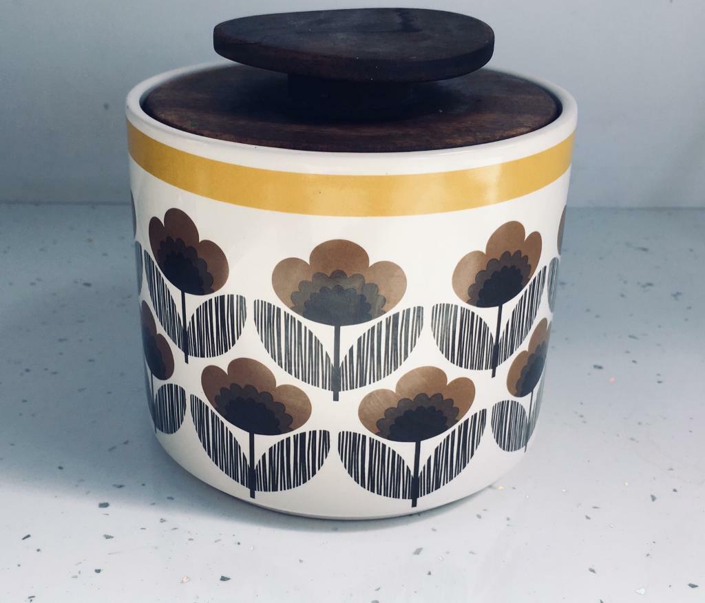 Orla Kiely Yellow Poppy Storage Jar In Leicester Leicestershire Gumtree