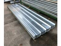 3.6M BOX PROFILE GALVANISED ROOF SHEETS ~ NEW