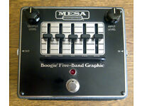 MESA / BOOGIE 5-BAND GRAPHIC EQ PEDAL