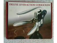Deluxe Lever-action Corkscrew - New