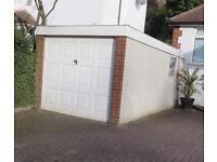Concrete pre fabricated garage