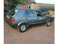 VW Golf mk2 type 19, 1.6 petrol.