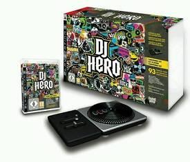 New DJ Hero Turntable Kit