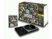 New DJ Hero Turntable Kit