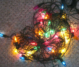 Outdoor Christmas lights, set of 40