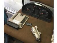 VW T5 Transporter ECU Clocks Ignition