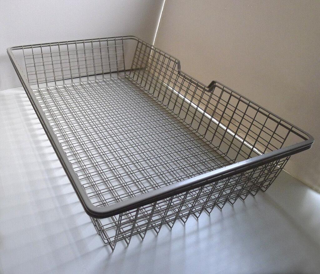 2x Ikea Pax Komplement Mesh Wire Baskets 100 x 58cm Grey Shelves Wardrobe /  Underbed Storage Bedroom | in Bath, Somerset | Gumtree