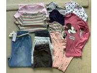 ** SOLD ** Girls Clothes Bundle - Tops and Trousers, Age 10. NEXT, M&S, Matalan