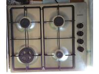 ***NEW Siemens built in gas hob for SALE with 2 years guarantee***