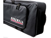 Kurzweil KB76 Gigbag , Softcase built for devices with 76 keys, Wheels. / Brand New !