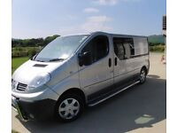 RENAULT TRAFIC LL29DCI 150 S-A CREW VAN Diesel Automatic Private NO VAT