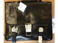 Satchel style Italian leather bag