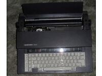 Electric typewriter -Silver reed 32 (no plug) FREE