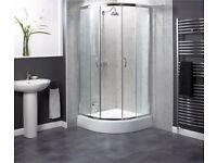 Aqualux Shine 900mm Quadrant Shower Enclosure
