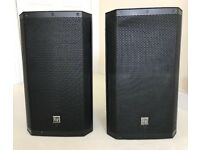 EV ZLX 12p Powered Speakers, good condition and in full working order.