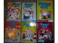 Family Guy Complete Seasons 1-6