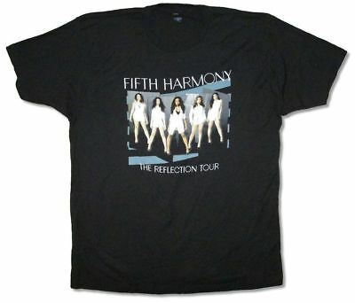 Fifth Harmony Reflection Black T Shirt New Official
