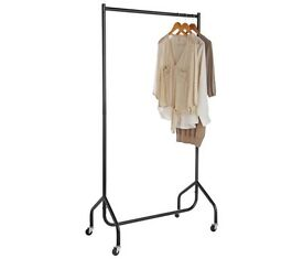 Clothes Rail hanger - Black