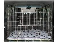 Large double dog cage