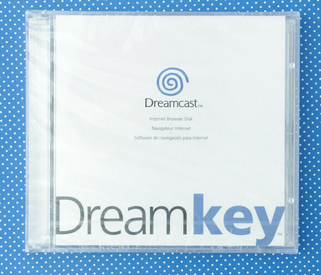 Dreamkey - Internet Browser Disk (Sega Dreamcast, 2000, Keep Case) *NEU*