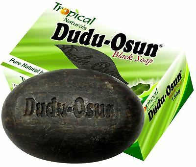 3x Schwarze Seife - Dudu Osun - Tropical Black Soap (3x 150g)