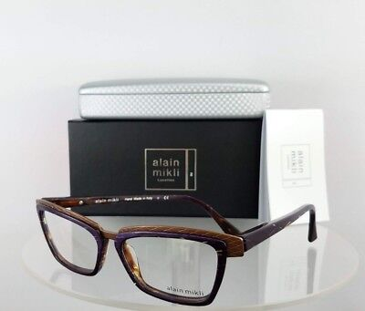 Brand New Authentic Alain Mikli A0 2015 E012 Eyeglasses A02015 Blend color Frame