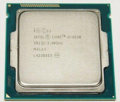 Intel Core i5-4590 Quad-Core Socket LGA 1150 CPU Processor SR1QJ 3.30 GHz TESTED