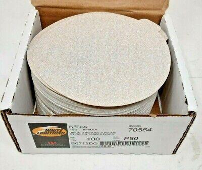 White Lightning 100 Pack Of 6 Sanding Discs 70564