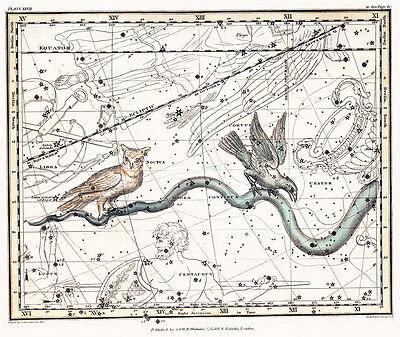 Astronomy Celestial Atlas Jamieson 1822 Plate-27 Art Paper or Canvas Print