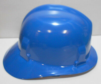 Cairns Msa Fire Service Helmet Hard Hat Blue Modern Shell Only