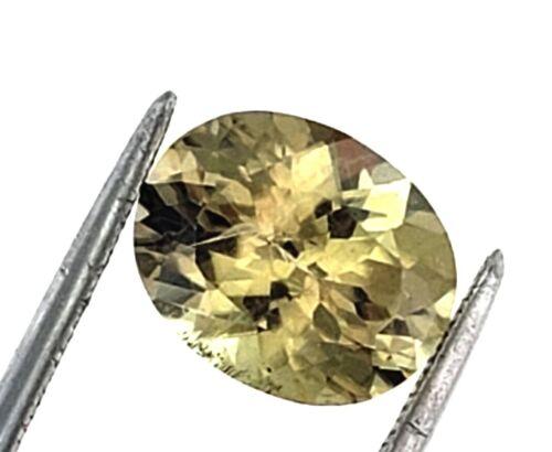 Loose Genuine 2.83 carats faceted oval color-change gem quality diaspore csarite