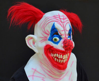 Crazy Halloween Masks (Scary Halloween Clown Mask Costume Party CRAZY)