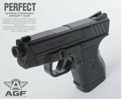 Academy #17231 PERFECT Spring Powered Pistol Airsoft Hand 6mm BB Gun Toy