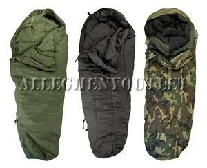 NICE-3-Part-Military-40-Modular-Sleeping-Bag-Sleep-System-w-Goretex-Bivy