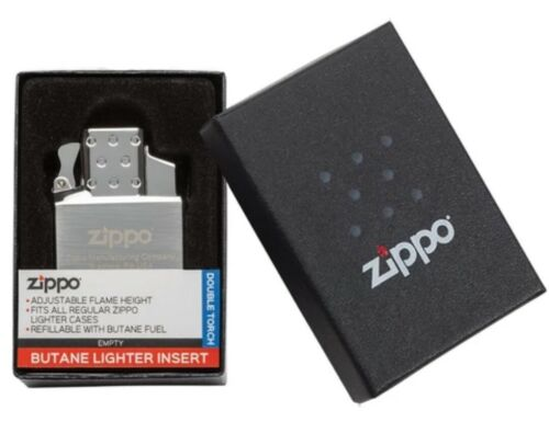 New Zippo double torch butane lighter insert