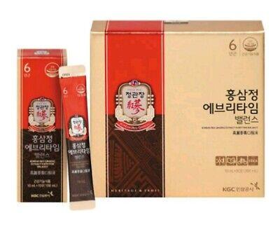 [KGC] Cheong Kwan Jang Korean Red Ginseng Everytime Balance 10ml*30sticks(300ml)