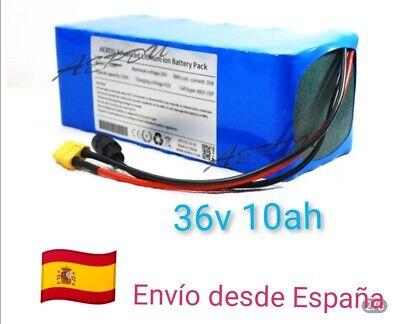 Bike-Bateria-36V-10Ah-Bicicleta-Electrica para-kit 500w 28km capacidad real