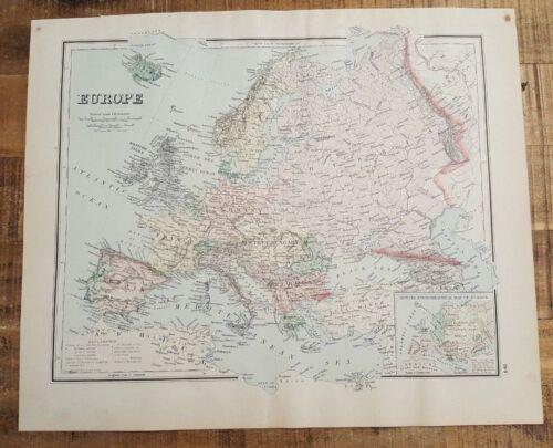 Antique MAP/GRAY