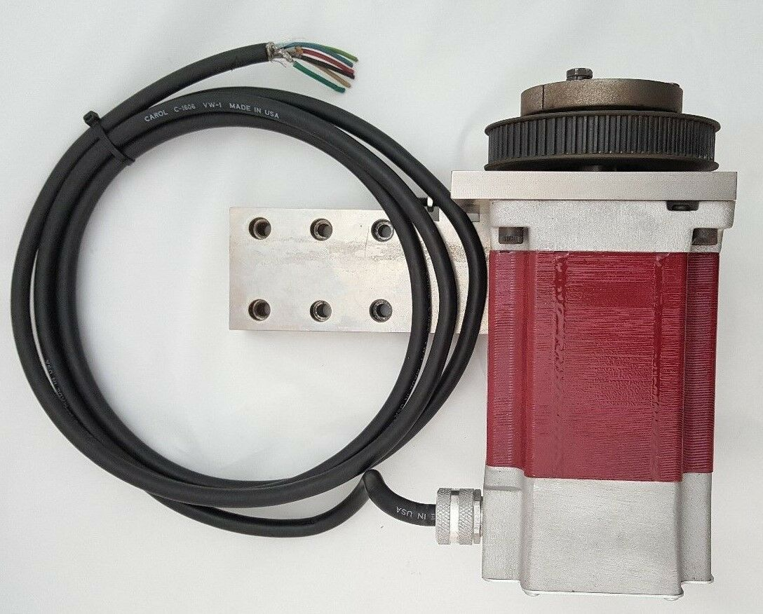 Large Stepper Motor With Mount And Pulley 540 Watt Wundr Shop