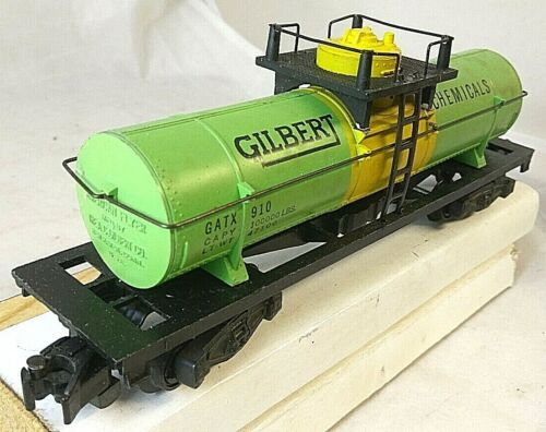 Reproduction American Flyer No. 910 Gilbert Chemical Single Dome Tank Car