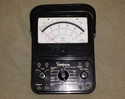 This Simpson Model 260 Series 6m Vintage Multimeter