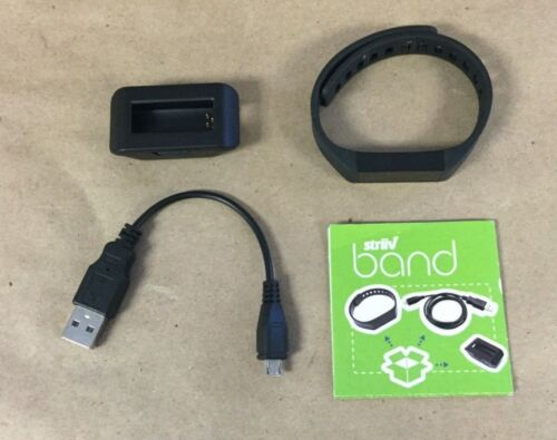 Striiv Band Fitness and Sleep Tracker Black STRV01-003-0A