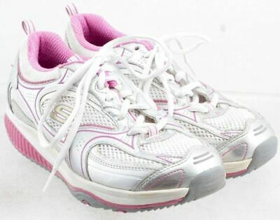 733799fe9744a Skechers Shape Ups Women's Silver White and Pink Size US 7 UK 4 EUR 37