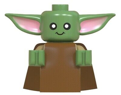 Baby Yoda and Mandalorian Custom Minifigures LEGO Star Wars, Ships from U.S.